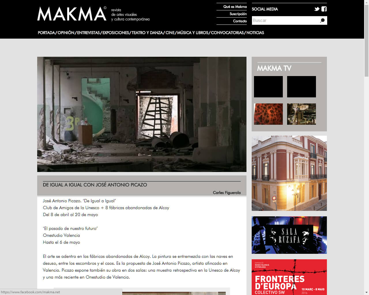 articulo en makma