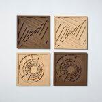 PICAZO 2018, ST, 3Dprint (wood), 16,5x16,5x2cm (each)