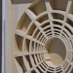 PICAZO 2018, ST, 3Dprint (wood), 16,5x16,5x2cm (each) (2)