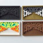 PICAZO, 2018, ST, 3Dprint (wood, multimaterial)10,5x16,5x1cm (cada pieza)