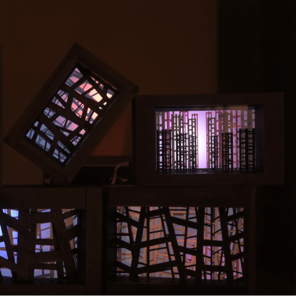 ST, instalación impresión 3D+digital, 2020